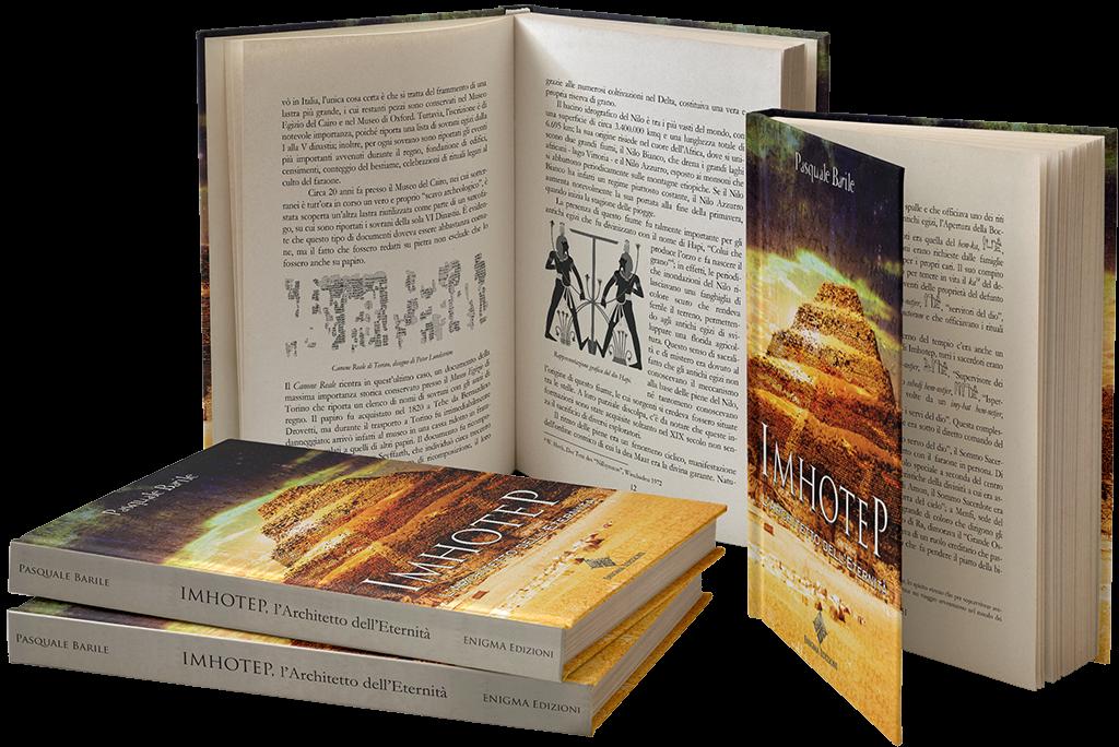 imhotep l'architetto dell'eternità