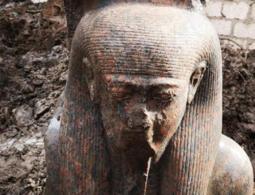 Scoperta un statua del ka di Ramesse II