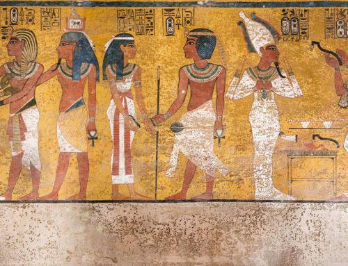 Una nuova camera nascosta nella tomba di Tutankhamon?