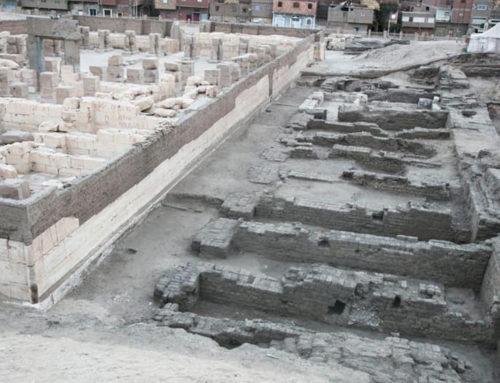 Abydos, scoperto deposito di fondazione di Ramesse II