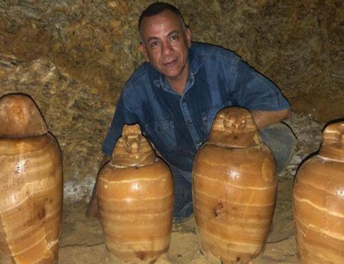 Egitto annuncia nuova scoperta a Tuna el-Gebel [video]