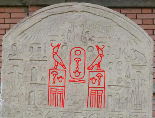 Scoperta una stele del faraone Wahibra